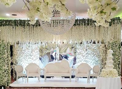 The stage for your big day